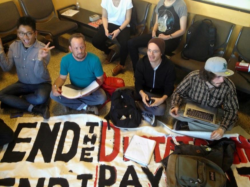 48hillscitycollegeprotest