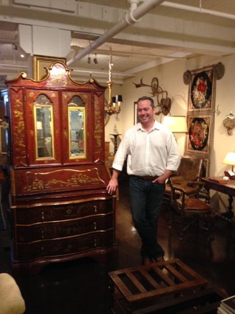 Jim Gallagher in his shop. Photo by Zelda Bronstein