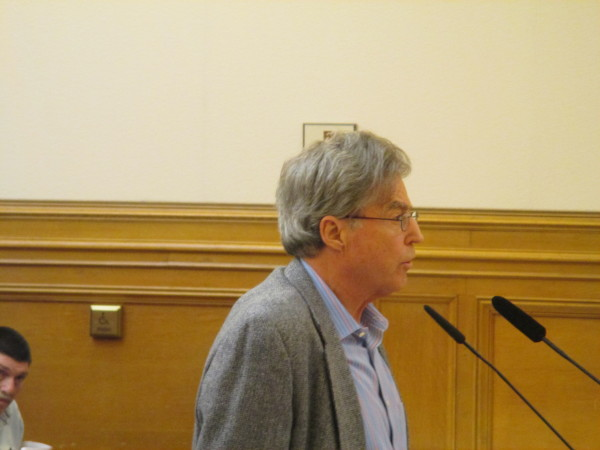 Former Planning Commission member Doug Engmann pointed out some of the problems with Airbnb