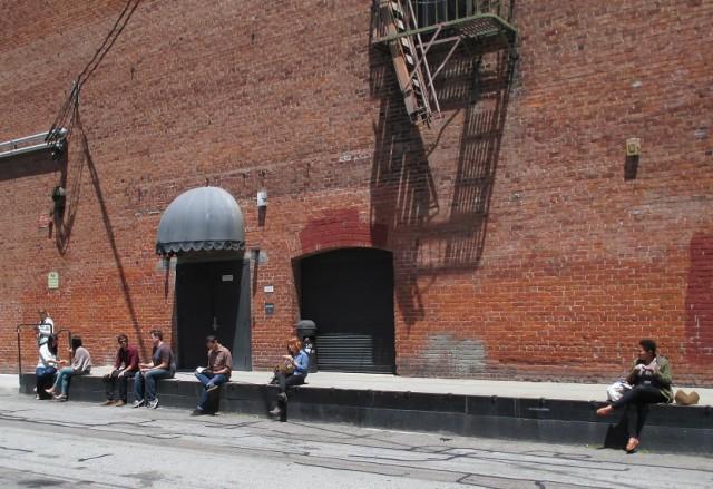 Oh, wait -- a loading dock!
