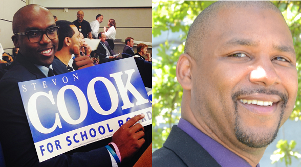 Stevon Cook and Shamann Walton are the only candidates endorsed by the teachers' union