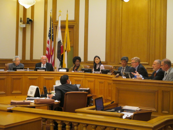 The Planning Commission had some suggestions for Sup. Chiu, but not all of them are in his bill