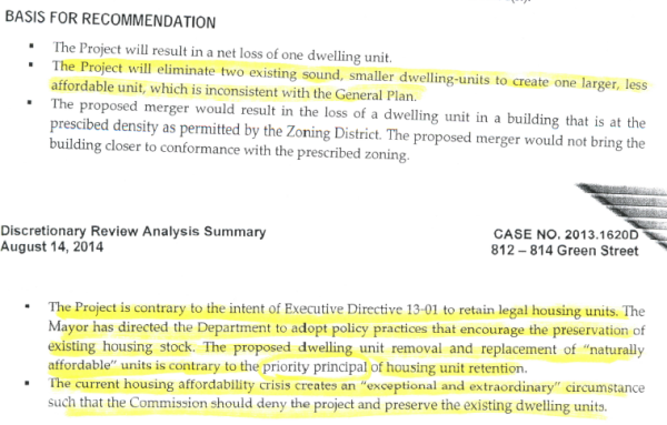 You can't get rid of rent-controlled housing, the Planning Dept. says -- unless you can