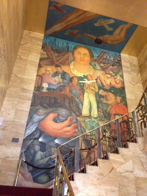 Diego Rivera at the City Club