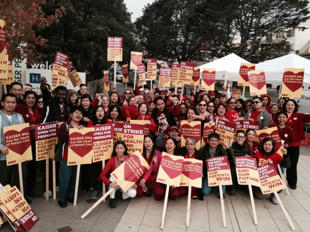 Kaiser nurses strike over patient care -- as Kaiser shortchanges care for low-income people