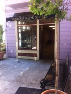 An empty Marcus Books after the eviction