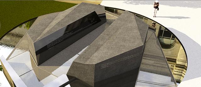The new veterans memorial