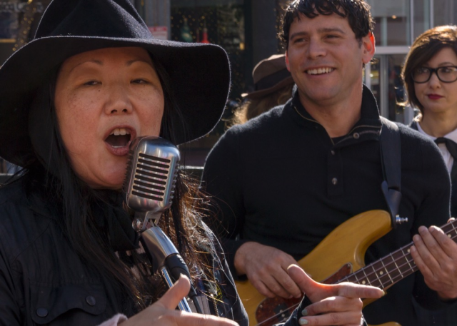 Photo of Margaret Cho and Ari Gorman by Gerard Livernois