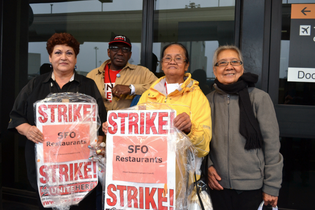 Restaurant workers at SF are inconvenienced every day by low wages