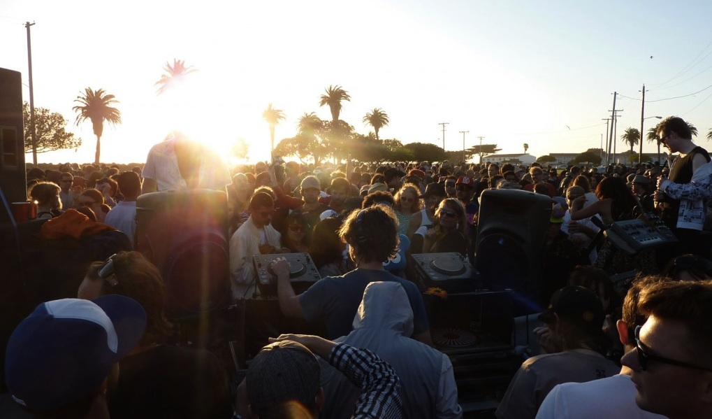 SF Nightlife 2014: Sunset island