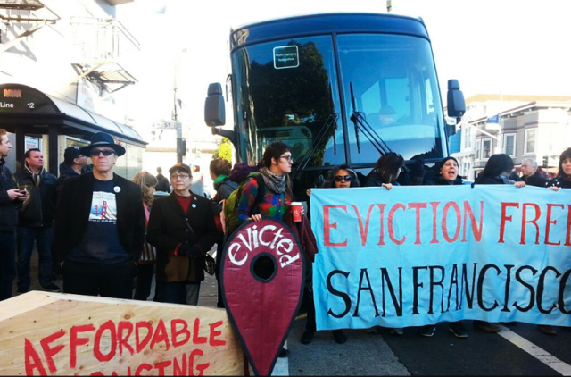 The Ellis Act evictions are down, but other evictions are up
