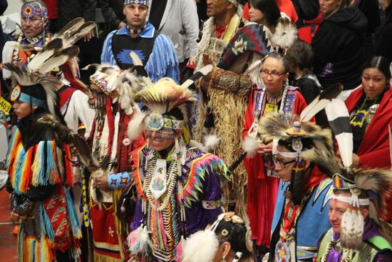 Photo from 2014's powwow by Jordy Jones