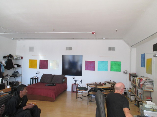 Joe Bender, a painter, has a studio at 1061 Market. Cheap artist housing used to be common in SF; now it's going away -- because of city policies