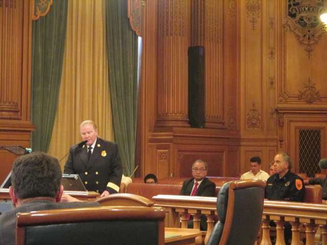 Fire Chief Joanne Hayes-White addresses the supervisors