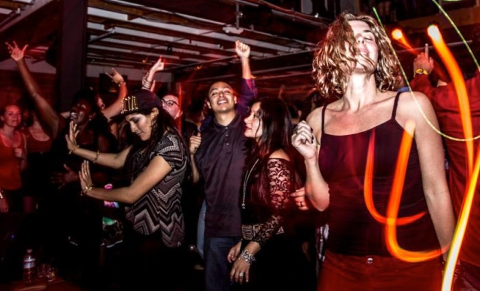 At a recent Non Stop Bhangra party at Public Works. Photo by Odell Hussey.