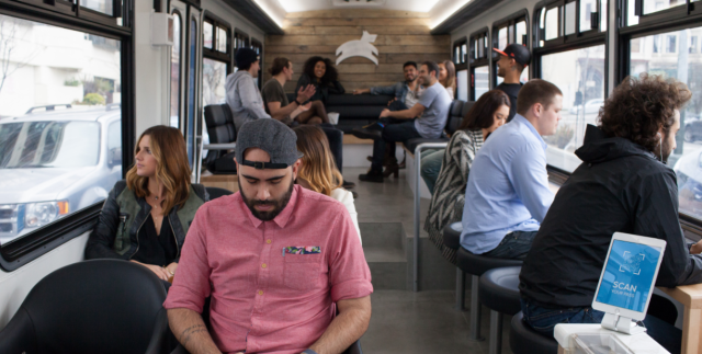 Look at all the young, healthy people with no mobility issues riding the luxury bus
