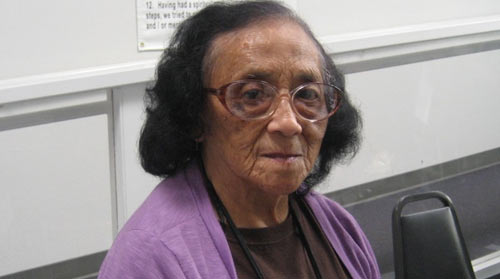 Ortencia, 82, would like to stay in Oakland