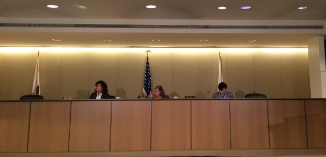 An empty seat at the Port Commission