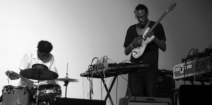 Percussive duo Black Spirituals play the Switchboard Fest.