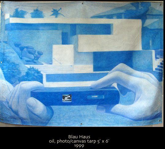 Housing Blues: Artist Charles Bierwirth can only afford a picture of a home he can't buy