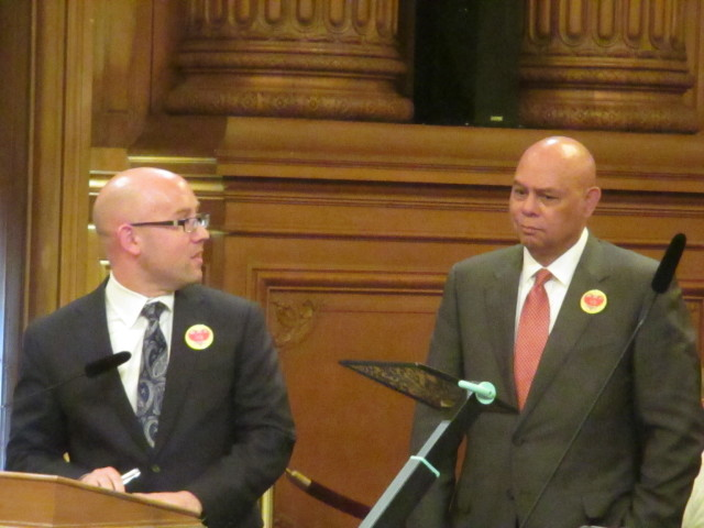 City College Board President Rafael Mandelman and Chancellor Art Tyler discuss the school's future with the supervisors