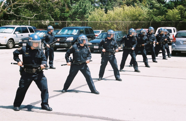 SF cops train at the Police Academy: How many more officers do we need, and who will pay the cost? (Photo SFPD)