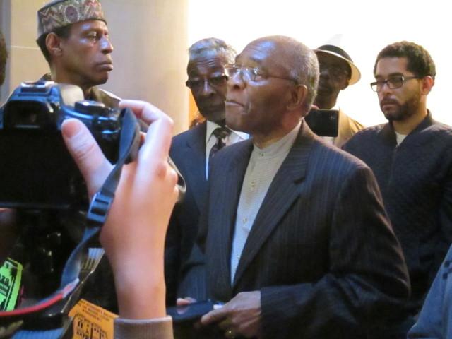 Rev. Amos Brown -- a former supervisor who was never a foe of development -- spoke in favor of the moratorium