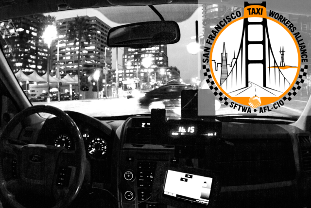 The Taxi Workers Alliance will be protesting Uber at the Conference of Mayors meeting in SF