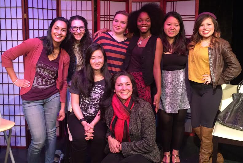 GirlTalk perfomrs at the 3 Girls Theatre New Works Fest