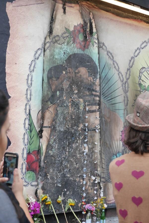 48 Hills: Galeria de la Raza mural unity rally