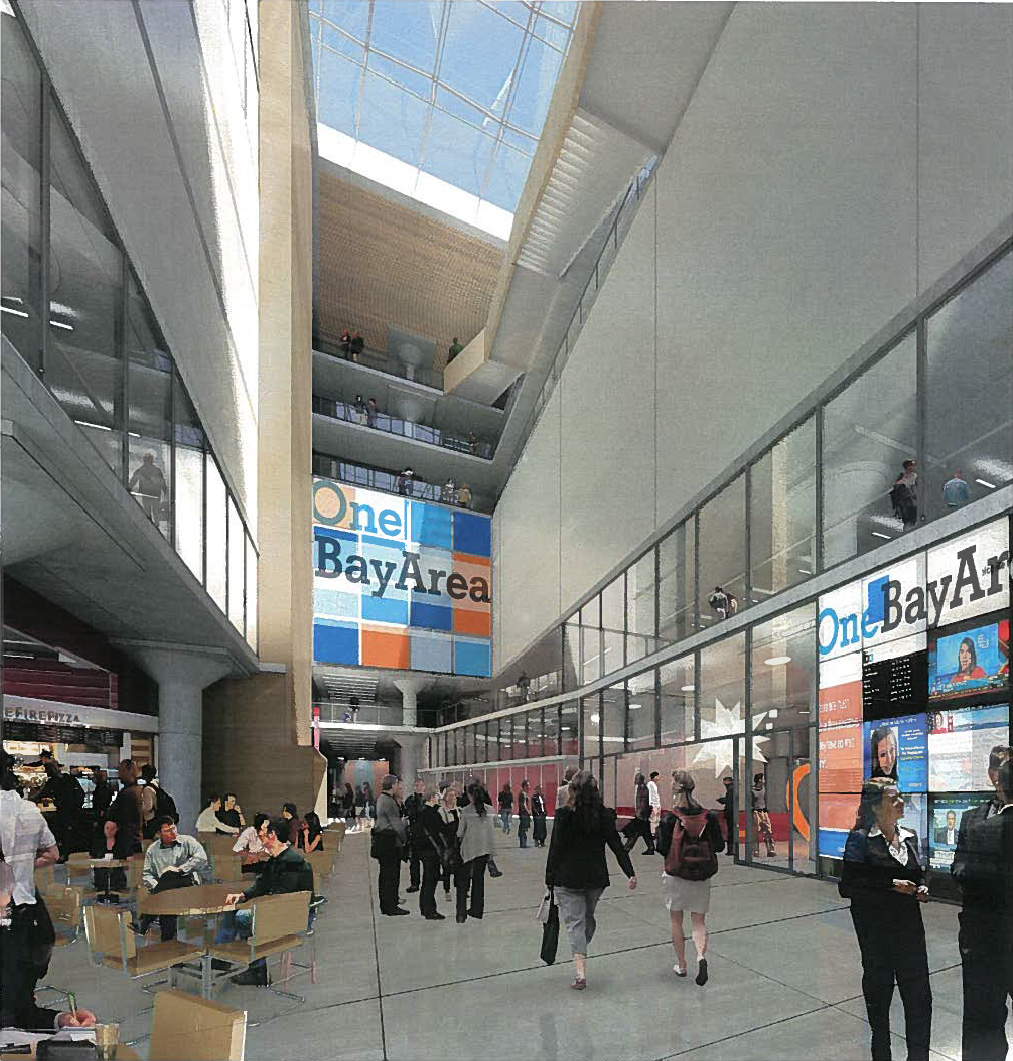 A rendering of the spanking new HQ