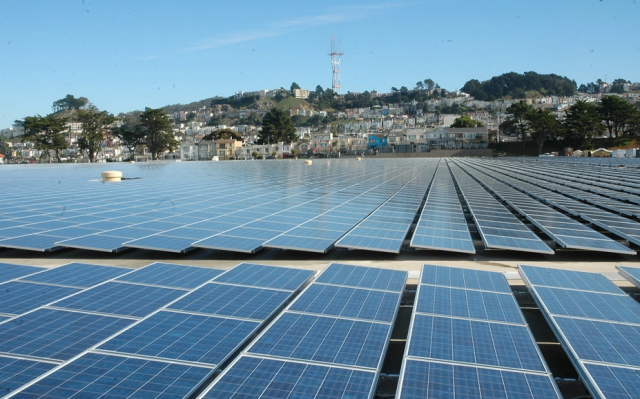 """IS the city's 5 megawatt solar project """"green?"""" PG&E's allies don't want you to think so"""