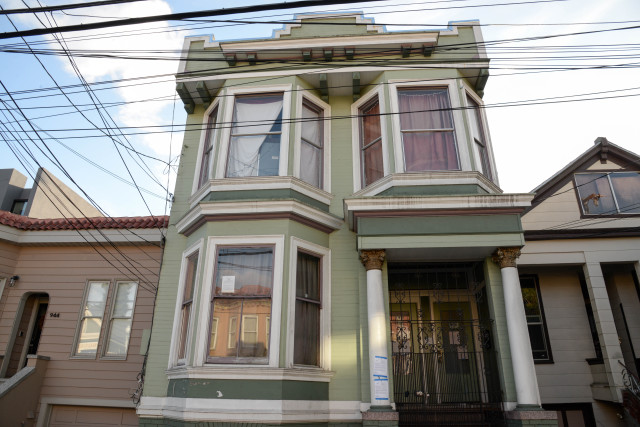 This Hampshire St. house was deemed uninhabitable by the city