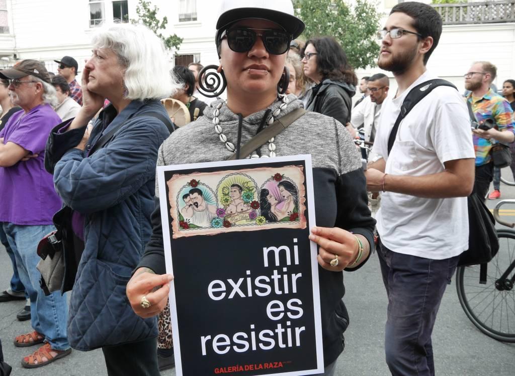 48 Hills: Galeria de la Raza unity rally