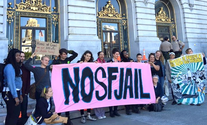 Kick off a week of actions protesting the proposed new jail
