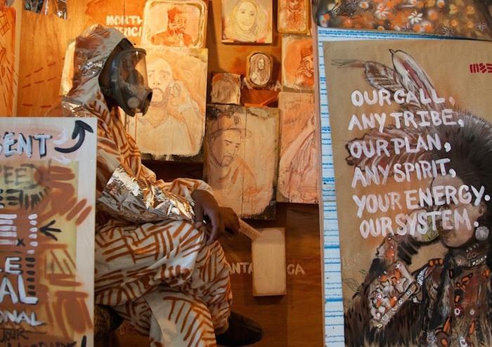 48 Hills: Art Looks, SOMArts' 'Making a Scene'