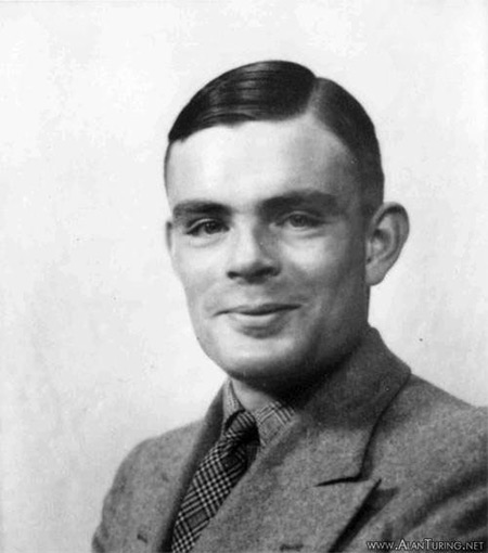 The actual Alan Turing