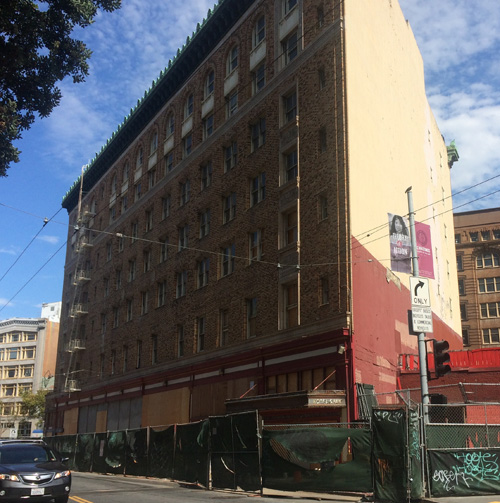 The Hotel Renoir will become a high-end establishment, with public money -- but no guarantee of union recoginition