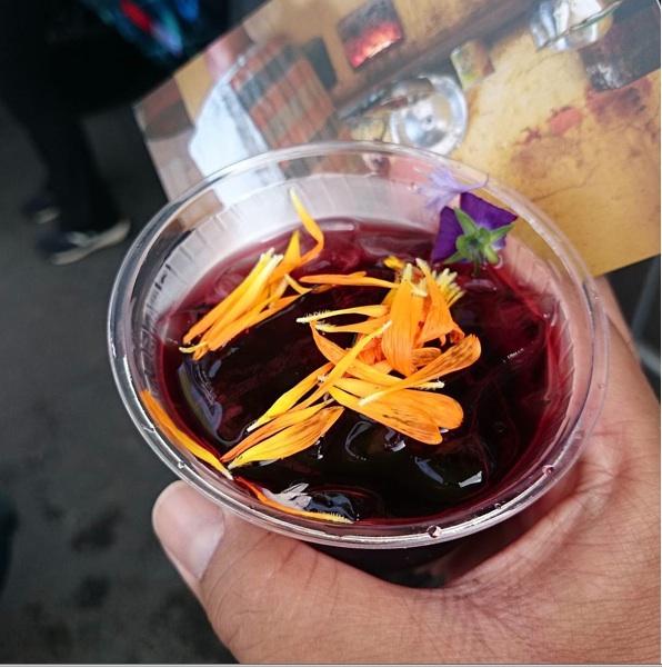 hibiscus lemonade from Radia Africa, posted by instagram user wearerinse.