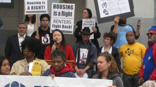 Sup. Jane Kim won approval for a set of eviction-protection laws