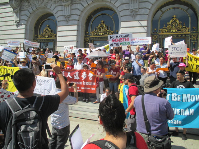 Renters demand eviction protections