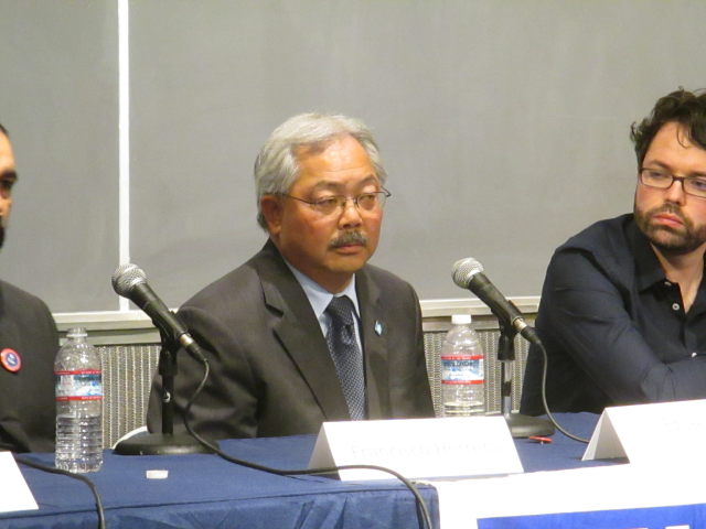 Mayor Lee would have more control over the budget under a plan coming up today