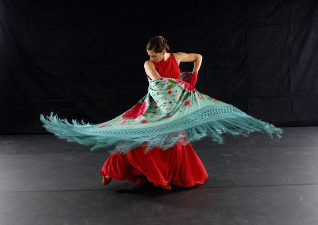 Theatre Flamenco's Carola Zertuche. Photo by Andy Mogg.