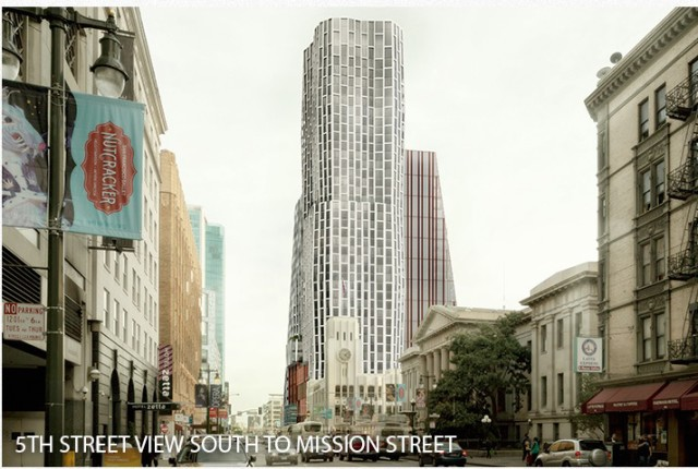 A giant project for Fifth and Mission drew extensive community opposition