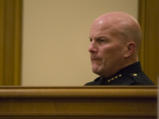 Many called on Chief Greg Suhr to resign