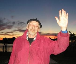 John Ross waves goodbye shortly before his death