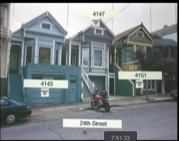 Commissioner Richards asks: Which of these houses can be demolished for new bigger development? (Answer: At least two of them)