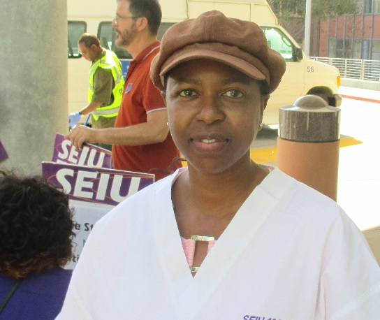 Yolanda Herron lost her house to Wells Fargo, and now has to walk by the Wells Fargo Plaza at her workplace every day