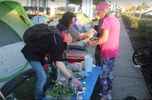 Tent cities are communities, too