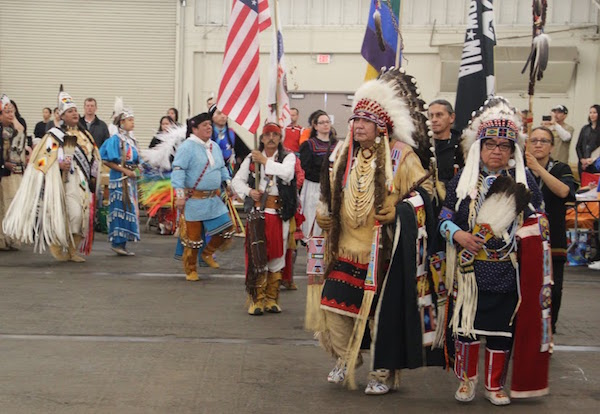 Photo of last year's processional entrance at Cow Palace by Jordy Jones.